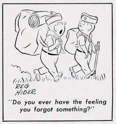 Cartoon-1963-Forgetful