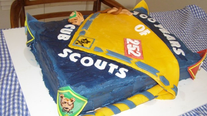 30 Sweet Cub Scout Boy And Eagle Cake Designs