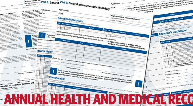 BSA health forms now as easy as A B C Bryan on Scouting – Bsa Medical Forms