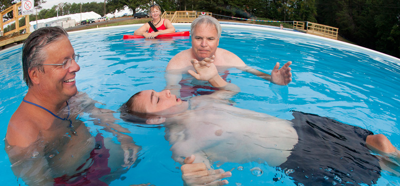 Swimming merit badge revised in time for summer camp - Bryan on ...