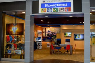 Read more about the Discovery Outpost, a Scouting store in Chicago-area's Woodfield Mall, in the January-February issue of Scouting magazine (available Dec. 15).