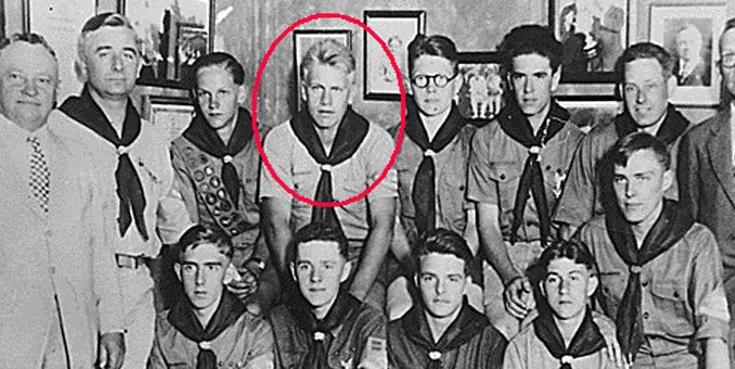 Image result for gerald ford, eagle scout