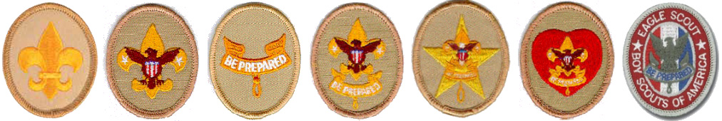 Image result for bsa rank patches