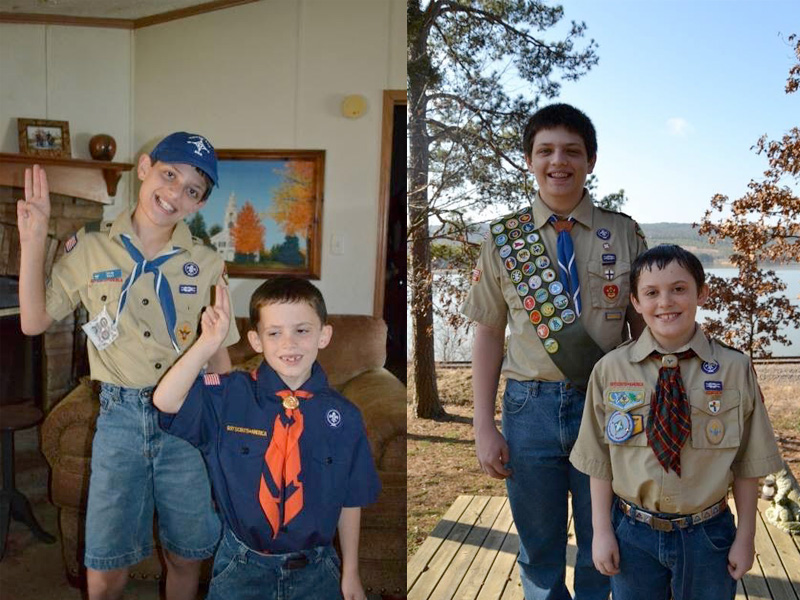 Tyler and Coleman from Arkansas