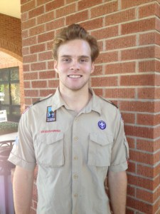 Isaiah Knox, not pictured in the group photo above, is the 12th Starkville High School Eagle Scout.