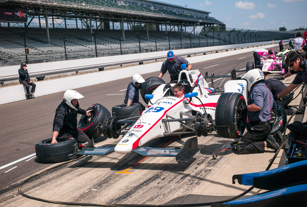 Scouting car in the 2016 Indy 500 - 2