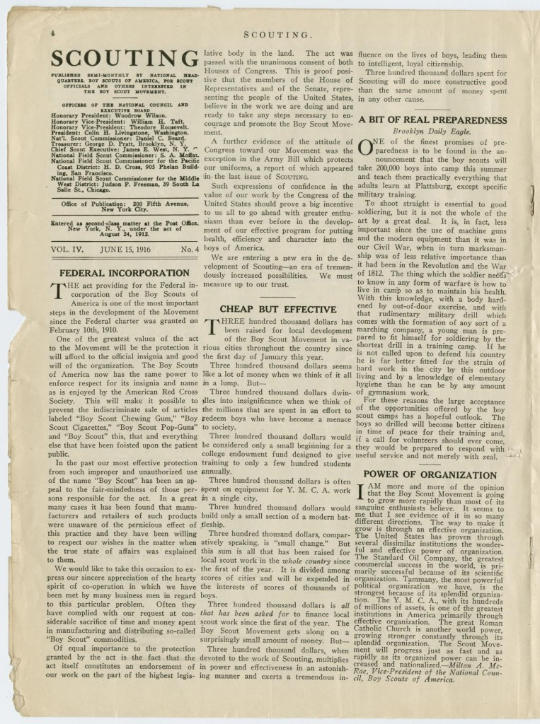 Scouting magazine June 15 1916 - 4