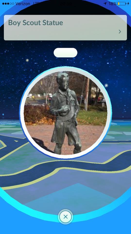 Baltimore Area Council PokeStop