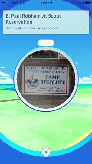 Camp Resolute PokeStop