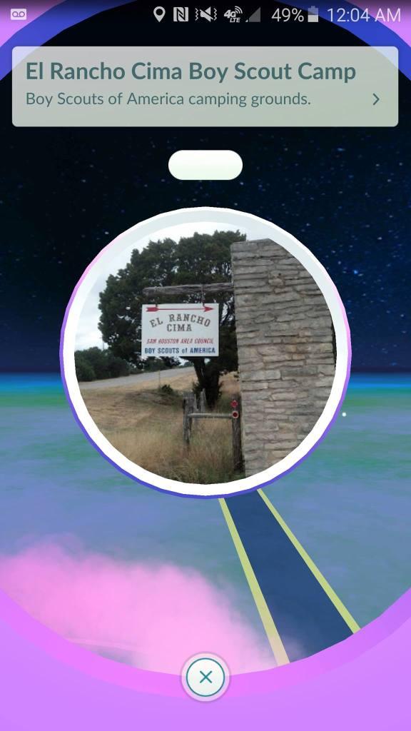 El Rancho Cima PokeStop