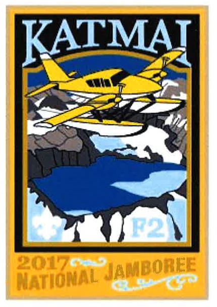 Katmai 2017 Jamboree subcamp patch