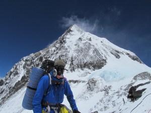 Milewski on Everest 2