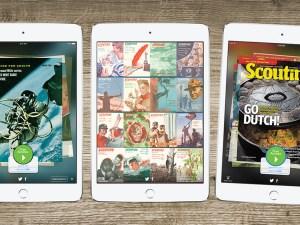 Scouting magazine app