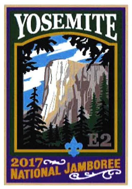 Yosemite 2017 Jamboree subcamp patch