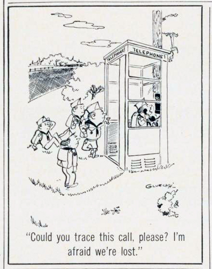 12 classic scouting cartoons from 1969