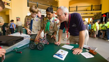 Top tips for making the most of a merit badge day