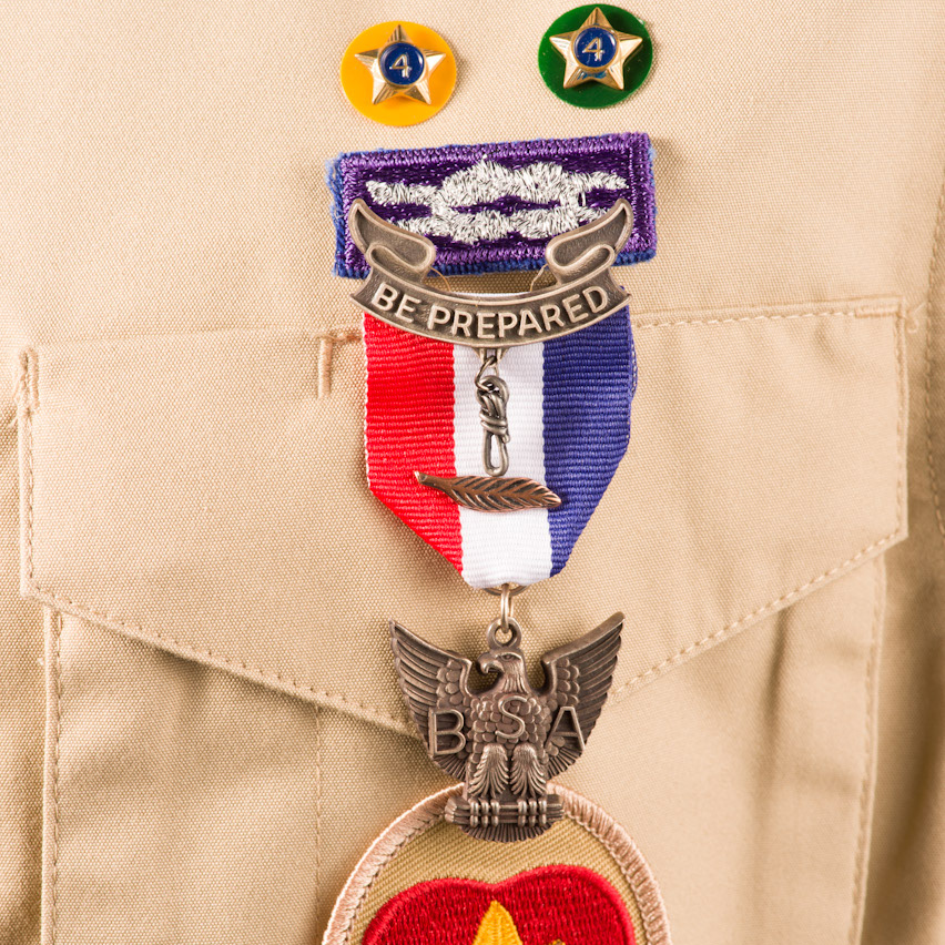 Badge the meaning of scout Boy Scout