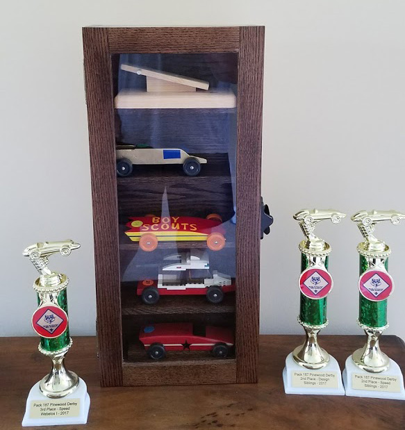 Build This Pinewood Derby Display Case With Your Cub Scouts Custom Pinewood Derby Display Stand Plans