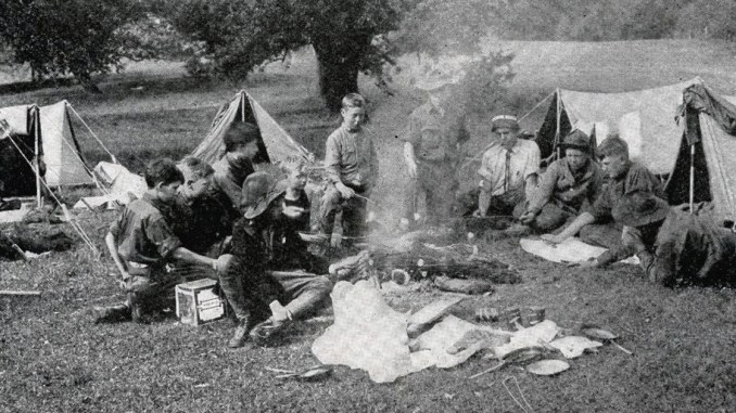 The history of Scouting and s'mores