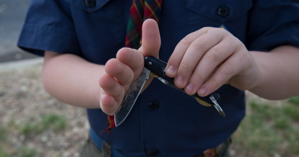 Quick Tips About Pocket Knife Safety For Cub Scouts Scouts Bsa
