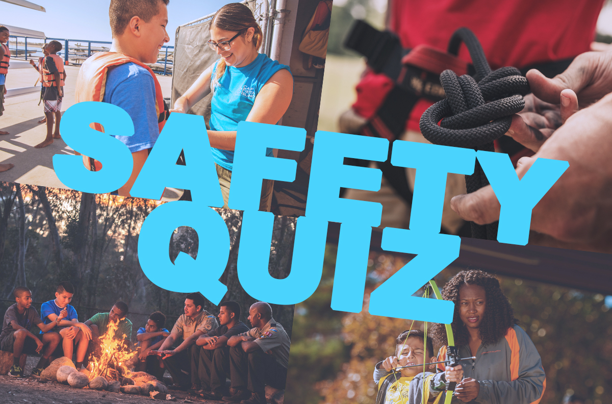 Congrats to the fourth winner of our Scouting Safety Quiz
