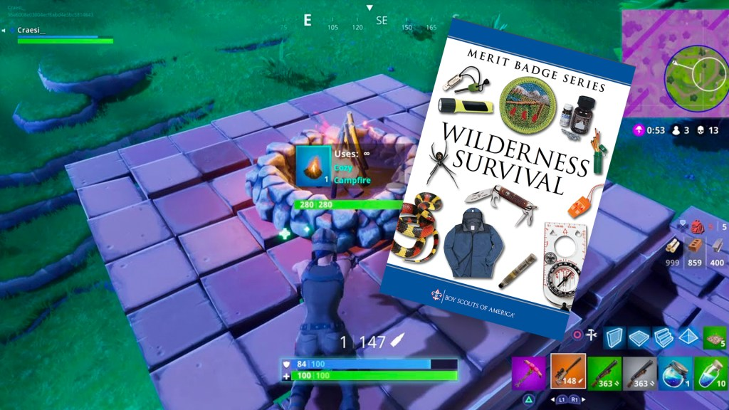 Fortnite and Scouting: Top 5 merit badges to help you win
