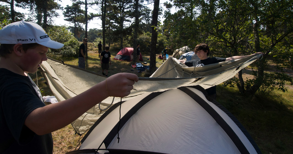 Five simple ways to make your campsite a little more comfortable