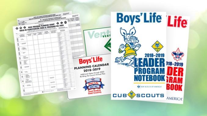 Grab some 2018-2019 BSA program-planning materials from Boys