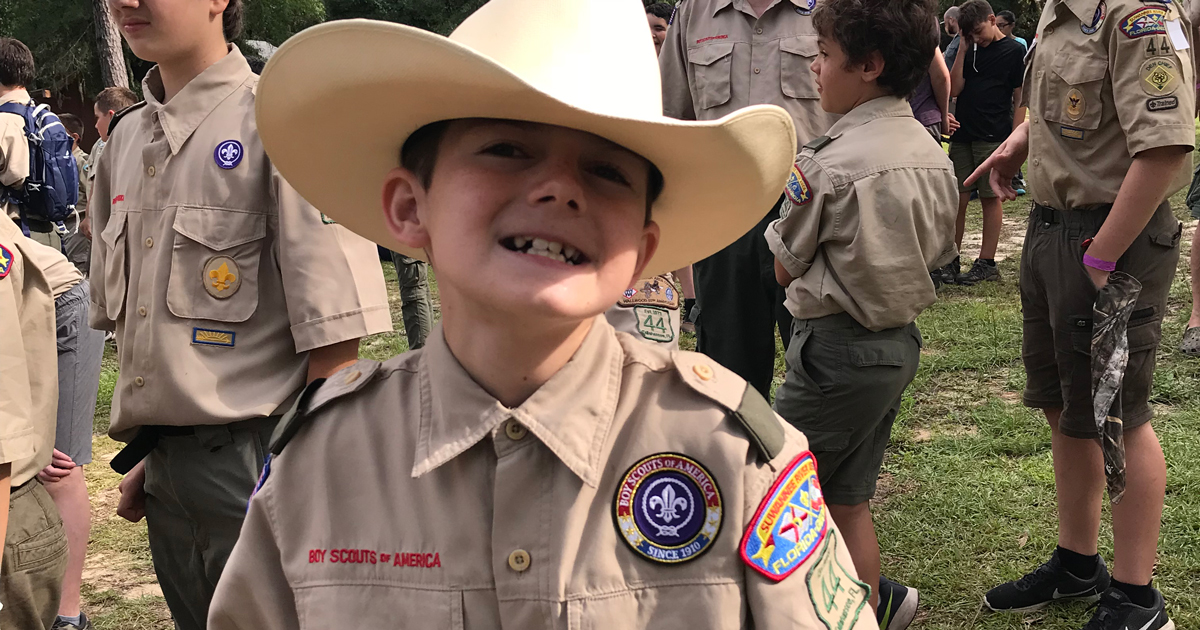 Scouting brought him back to us!' say parents of boy with
