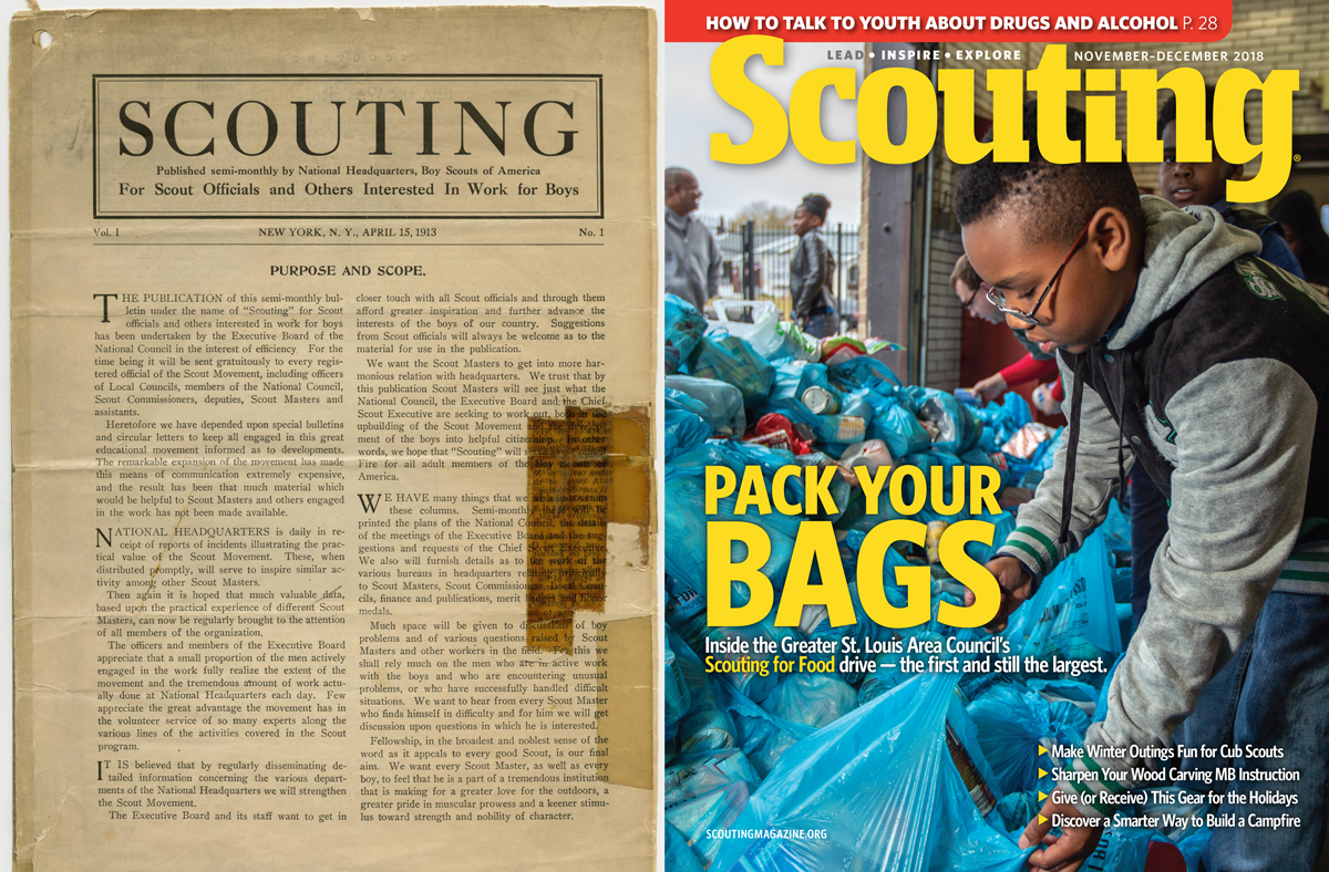 Who gets Scouting magazine? Every registered adult leader in