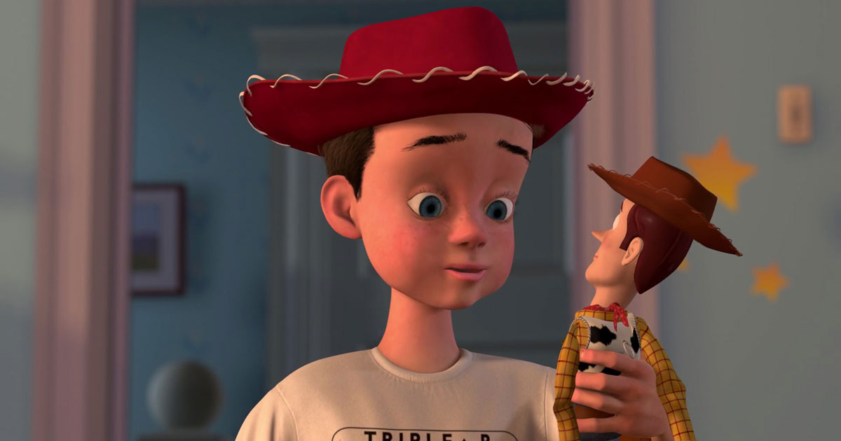 Here's definitive visual proof that Andy from 'Toy Story' was a Scout