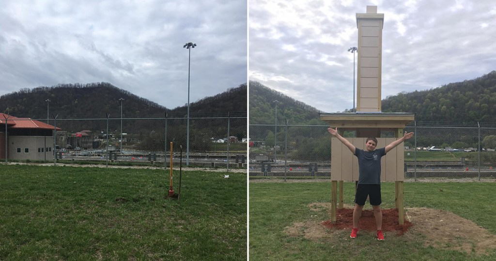 Extreme Makeovers, Round 28: Eagle Scout project before-and-after photos