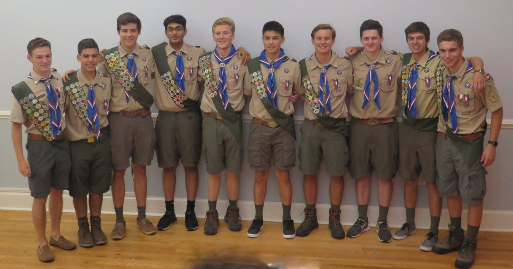 How often should your troop have Eagle Scout courts of honor?