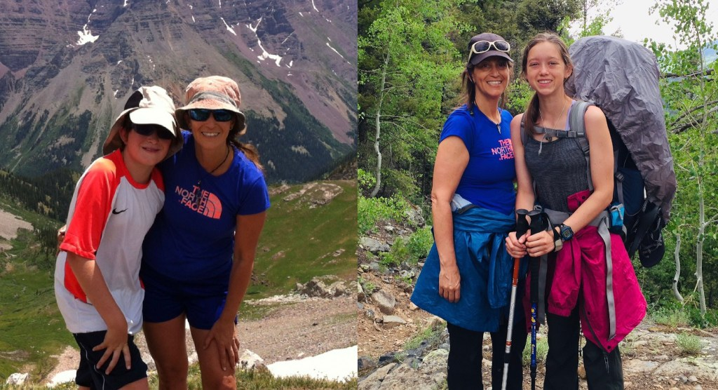 Hiking brought volunteer closer to her son; then the same happened with her daughter