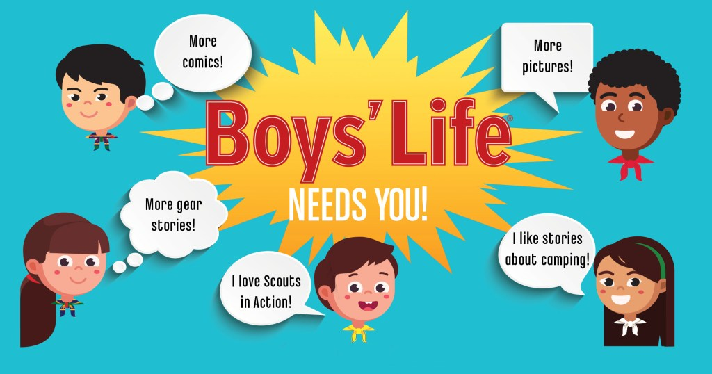 Boys' Life wants YOU (actually your Scout) to join the magazine advisory team