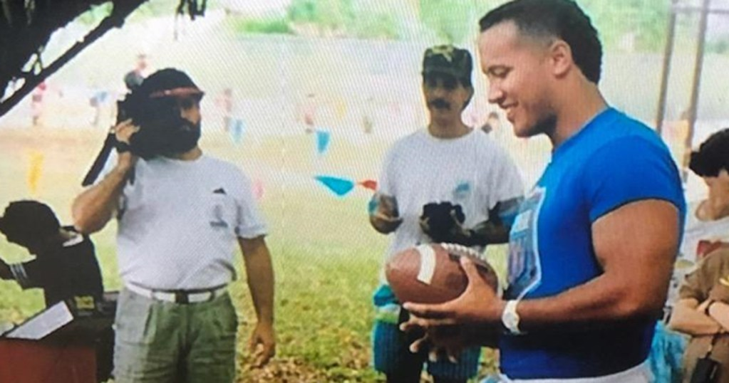 Dwayne 'The Rock' Johnson attended this Scouting event in the '90s