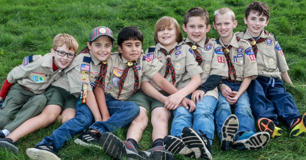 How this Cub Scout den earned all 27 Webelos and Arrow of Light adventure pins