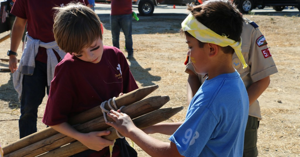 Outwit, outplay, outrecruit: Troop holds 'Survivor'-themed event for Webelos