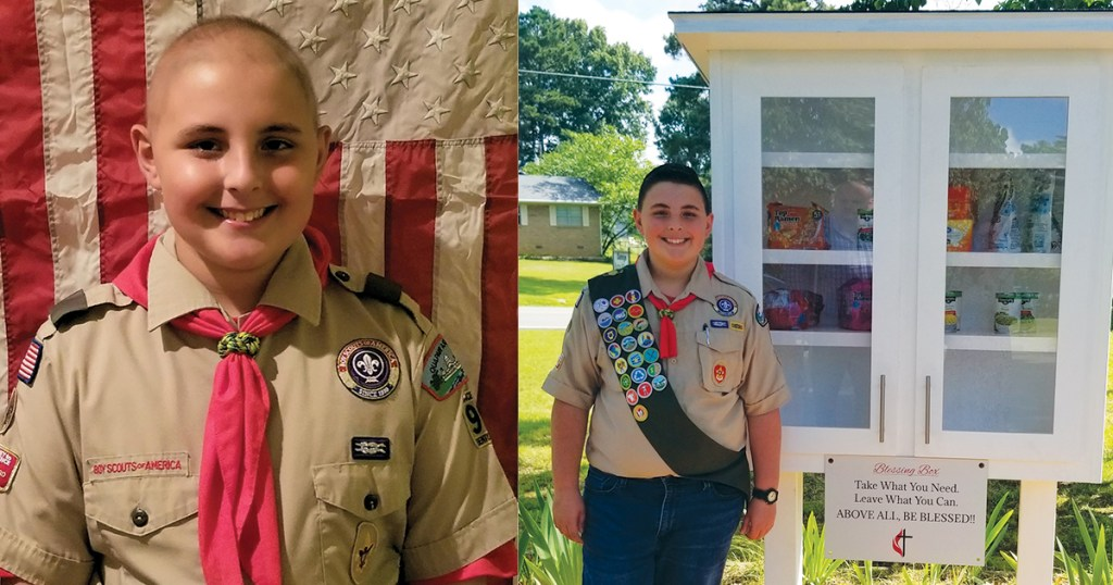 Arkansas Scout overcomes cancer to earn Eagle Scout Award