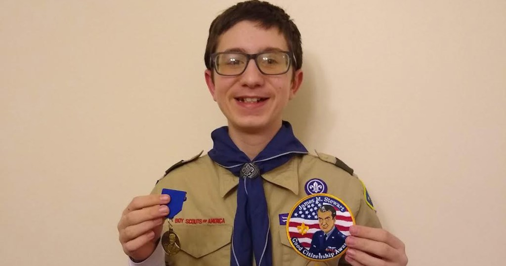 How your Scouts can earn the James M. Stewart Good Citizenship Award