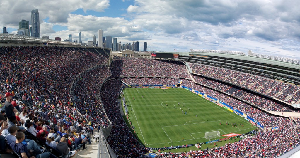 Soldier Field wide shot