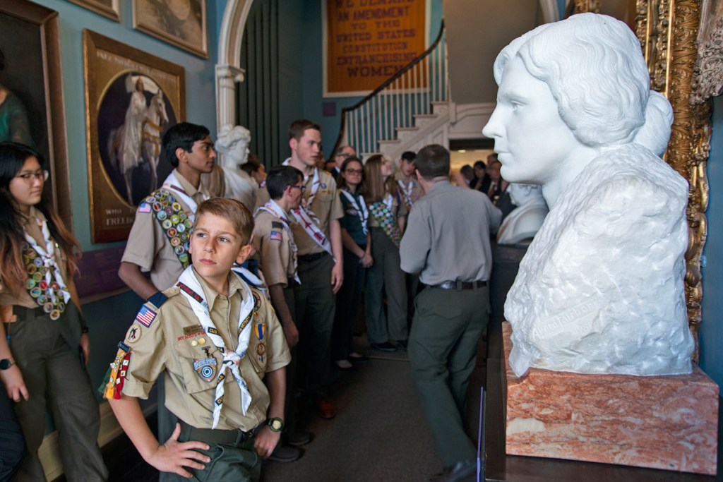On the 100th year since the 19th Amendment, let's look how Scouts stood with suffragists