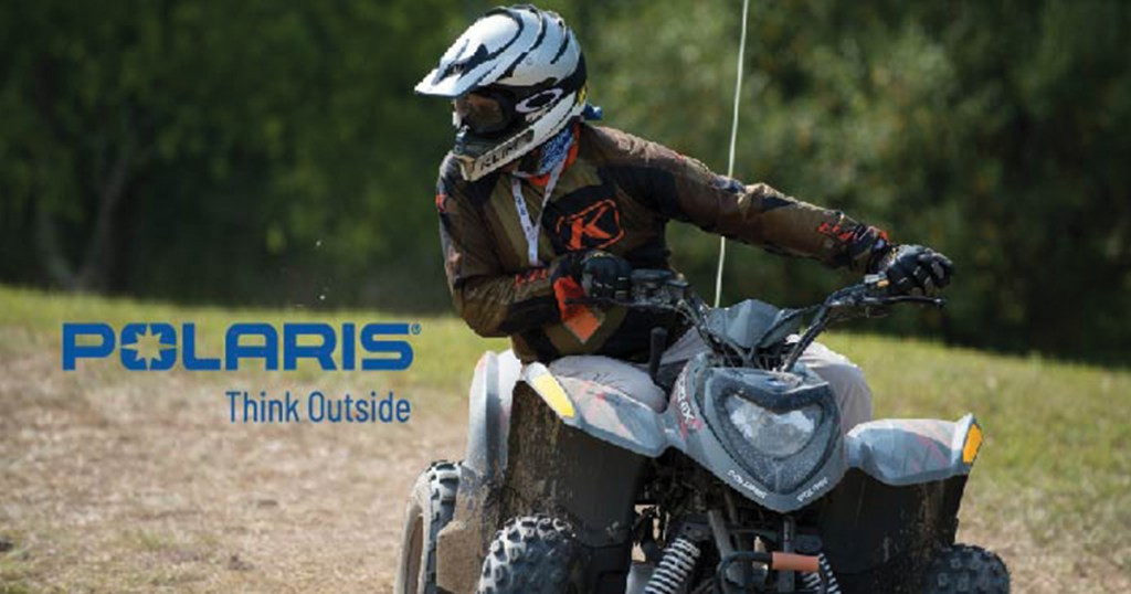Rev up Polaris ATV fun at a council camp near you