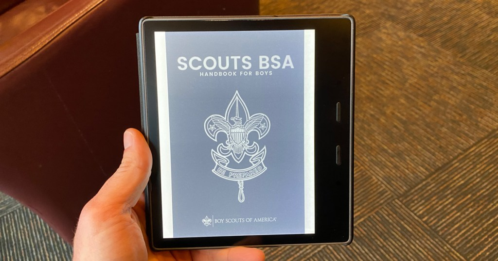 Scouts BSA Handbook for Boys, Scouts BSA Handbook for Girls now available on Kindle