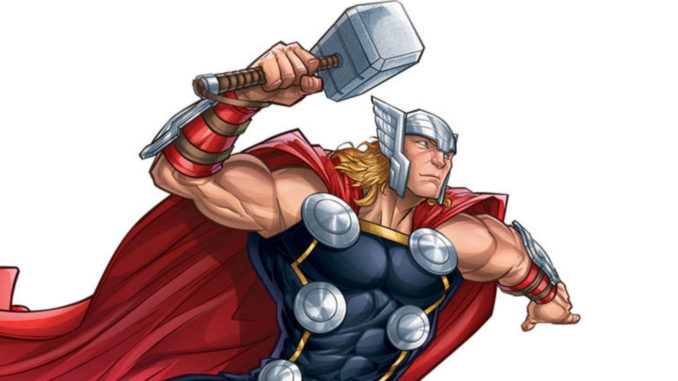 By Odin's beard! Thor-themed Pinewood Derby car appears in Thor comic