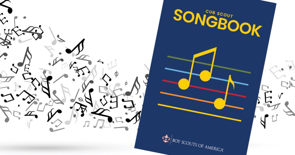 Listen to your favorite songs from the now-digital Cub Scout Songbook