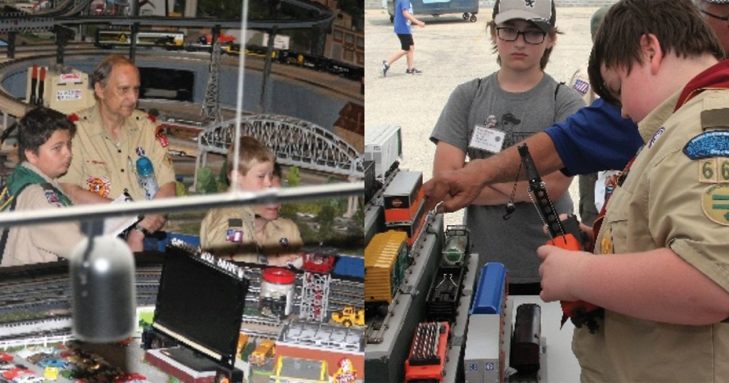 Building model trains at home can put your Scout on track to earning the Railroading merit badge