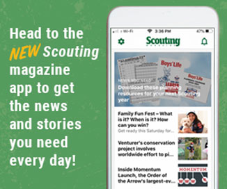 Download the new Scouting magazine app