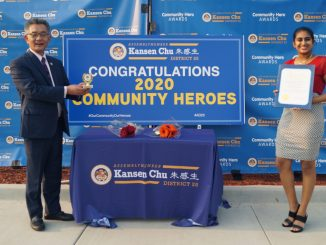 In October, Nethra Srinivasan, a Health Care Explorer, received a 2020 Community Heroes Award from Assemblymember Kansen Chu.