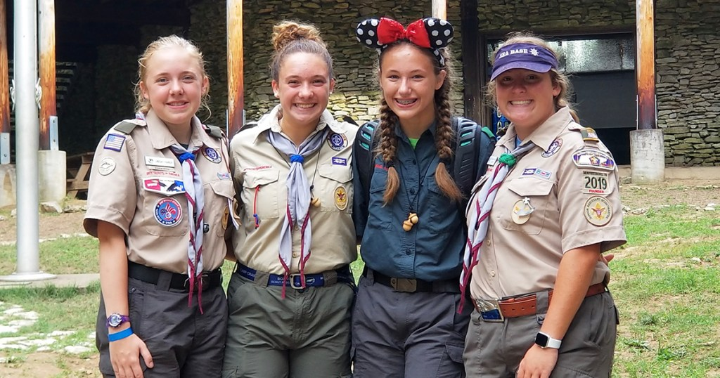 These four will join Inaugural Class of Female Eagle Scouts next year